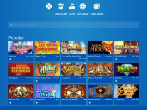 Eskimo Casino screenshot games
